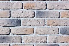 Decorative relief cladding slabs imitating bricks Royalty Free Stock Photography
