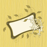 Decorative retro frame Stock Photos