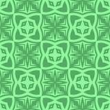 Decorative Retro Green Seamless Pattern Royalty Free Stock Photo