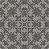Decorative Retro Grey Seamless Pattern Stock Photography