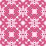 Decorative Retro Pink Seamless Pattern Stock Photo