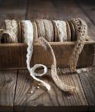 Decorative ribbon. Royalty Free Stock Photos