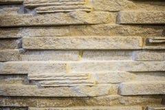Decorative rock; elements of plaster. Stylized wild stone Stock Photo