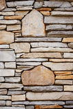 Decorative Rock Wall Stock Image