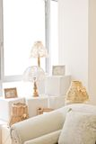 Decorative romantic corner Royalty Free Stock Image