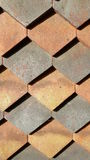 Decorative Roof Tiles Stock Photography