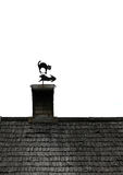 Decorative rooftop Stock Images