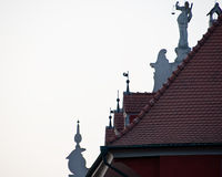 Decorative rooftops Royalty Free Stock Photos