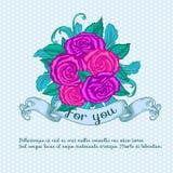 Decorative rose Stock Photo