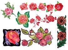 Decorative roses Stock Photo