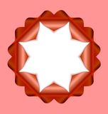 Decorative rosette Royalty Free Stock Images