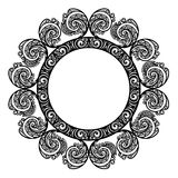 Decorative Round Frame Royalty Free Stock Image