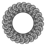 Decorative Round Frame Stock Images