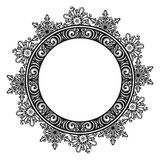 Decorative Round Frame Royalty Free Stock Photo