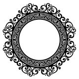 Decorative Round Frame Royalty Free Stock Images