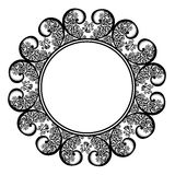 Decorative Round Frame Stock Image