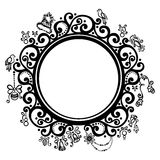 Decorative Round Frame Royalty Free Stock Photography