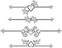 Decorative Rule lines. Eps8 file added Stock Photo