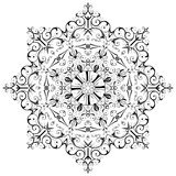 Decorative runic rosette. Stock Photo