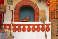 Decorative russian stove Royalty Free Stock Photos