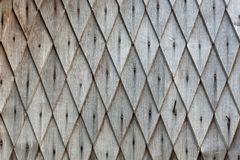 Decorative rustic rhombus tile. Decorative rustic rhombus tiles - wooden texture Stock Image