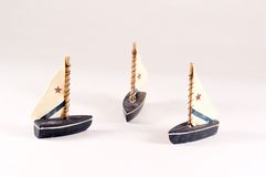 Decorative Sailboats Royalty Free Stock Photo