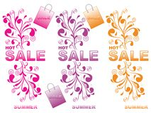 Decorative Sale Royalty Free Stock Photos