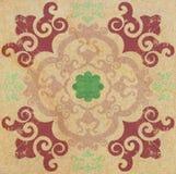 Decorative sandstone tile background Royalty Free Stock Photos