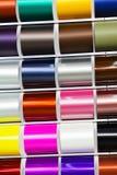 decorative satin ribbons Stock Photos