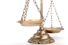 Decorative Scales of Justice Stock Photos