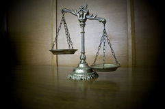 Decorative Scales of Justice Royalty Free Stock Photo