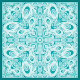 Decorative scarf pattern Royalty Free Stock Photo