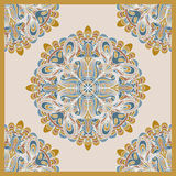 Decorative scarf pattern Royalty Free Stock Photos