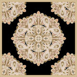 Decorative scarf pattern Royalty Free Stock Photography