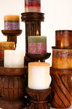 Decorative Scented Candles Stock Image