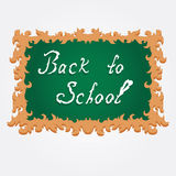 Decorative school board Royalty Free Stock Photo