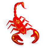 Decorative scorpion Stock Photo