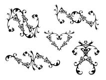 Decorative Scrolls Royalty Free Stock Images