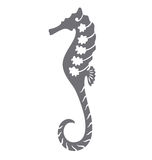 Decorative Sea Horse Stock Images