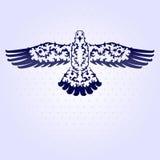 Decorative seagull Stock Photo