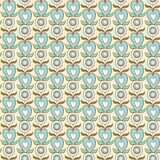 Decorative seamless background Royalty Free Stock Images