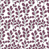 Decorative seamless background with branches. Pattern for design Royalty Free Stock Photography