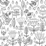 Decorative seamless background pattern Royalty Free Stock Photography