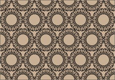 Decorative seamless background Royalty Free Stock Photos
