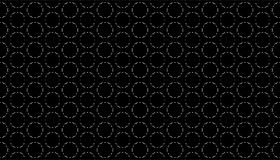 Decorative Seamless dots and line geometric pattern design Royalty Free Stock Images