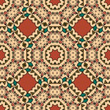 Decorative seamless ethnic pattern. Endless japan Stock Image