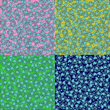 Decorative seamless floral background Royalty Free Stock Photo
