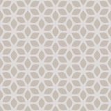 Decorative Seamless Floral Geometric Gold & Beige Pattern Background Stock Photos