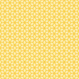 Decorative Seamless Floral Geometric Pattern Background Stock Images