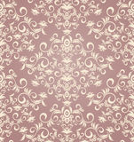 Decorative seamless floral ornament Royalty Free Stock Photos